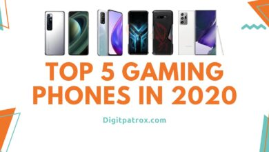Top 5 Gaming Phones in 2020 digitpatrox best phones in 2021